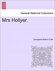 Mrs Hollyer. - Georgiana Marion Craik