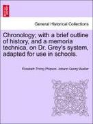 Phipson, Elizabeth Thring;Müller, Johann Georg: Chronology; with a brief outline of history, and a memoria technica, on Dr. Grey´s system, adapted for use in schools.