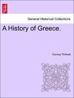 A History of Greece. VOL. III, NEW EDITION - Thirlwall, Connop