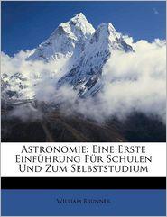 Astronomie - William Brunner