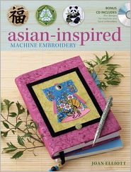 Asian-Inspired Machine Embroidery