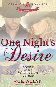 One Night's Desire: Book 2 of the Wildfire Love Series - Rue Allyn
