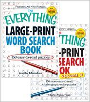 The Everything Large Print Word Search Bundle - Vol I and II - Jennifer Edmondson, Charles Timmerman