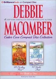 Debbie Macomber Cedar Cove CD Collection 2: 44 Cranberry Point/50 Harbor Street - Debbie Macomber, Read by Sandra Burr