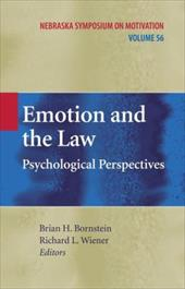 Emotion and the Law: Psychological Perspectives - Bornstein, Brian H. / Wiener, Richard L.