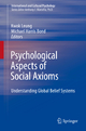 Psychological Aspects of Social Axioms - Professor Kwok Leung; Michael Harris Bond