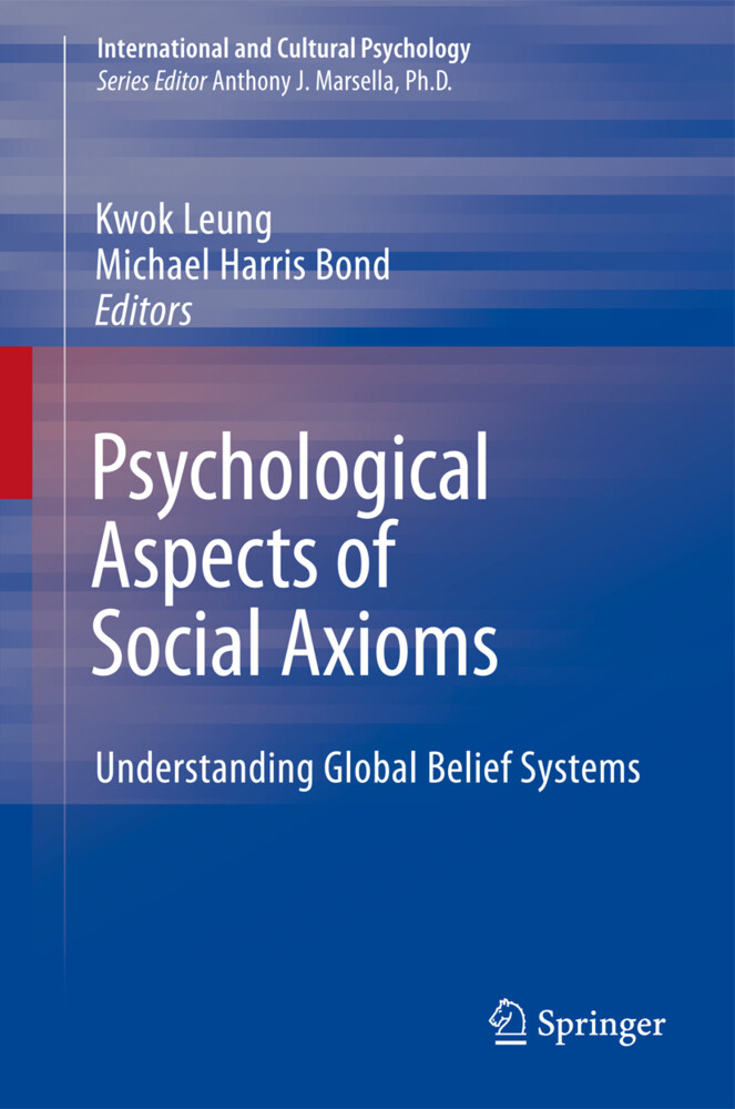 Psychological Aspects of Social Axioms als Buch von - Springer New York