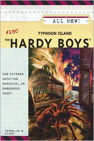 Typhoon Island (Hardy Boys Series #180) - Franklin W. Dixon