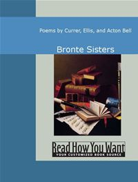 Poems By Currer Ellis And Acton Bell - Bronte Sisters