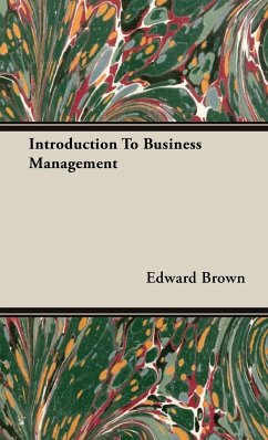 Introduction To Business Management - Brown, Edward