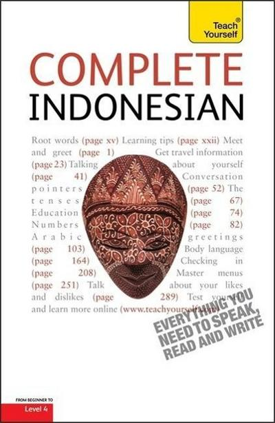 Complete Indonesian (Bahasa Indonesia): Teach Yourself - Christopher Byrnes