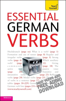 Teach Yourself: Teach Yourself Essential German Verbs - 3000 Verbs and Free Audio Download. Reference - Robertson, Silvia / Roberts, Ian
