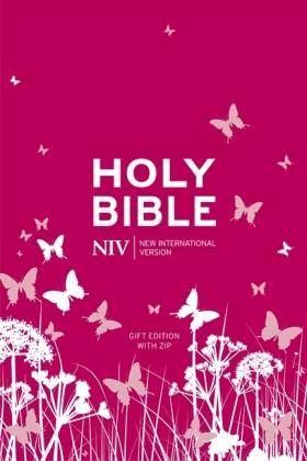 Bibelausgaben: Holy Bible, New International Version, gift edition. NIV Tiny Bible, pink