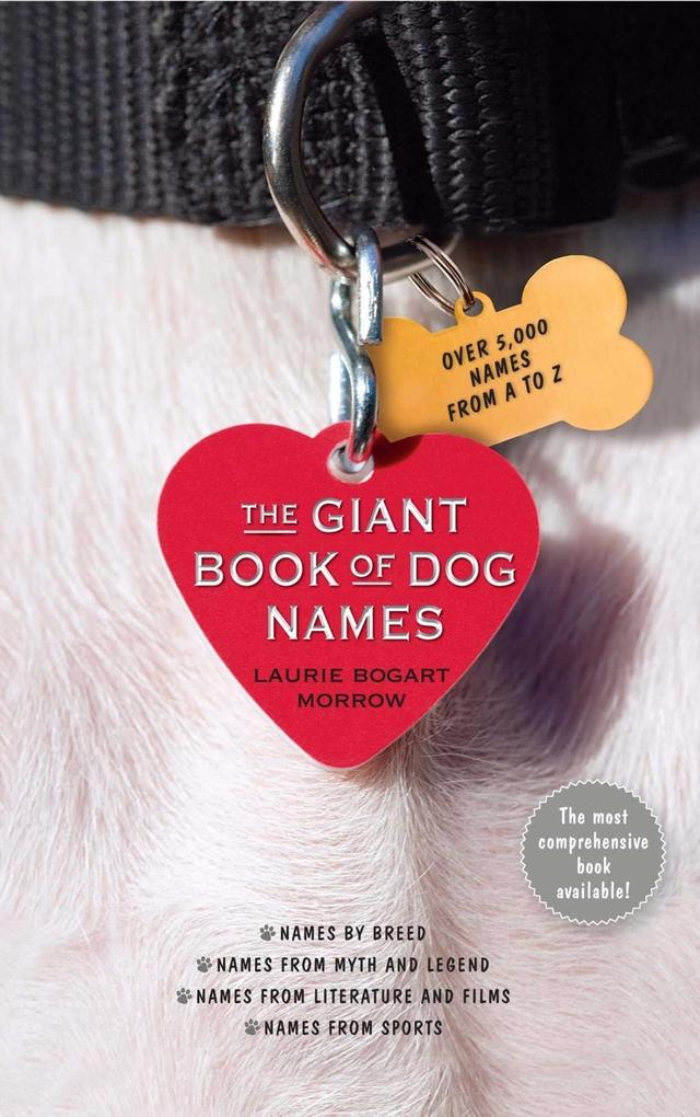 The Giant Book of Dog Names als eBook von Laurie Bogart Morrow - Simon + Schuster Inc.