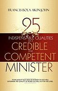 25 Indispensable Qualities of a Credible and Competent Minister