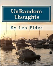 UnRandom Thoughts: Your Journal of Hope and Inspiration - Len Elder