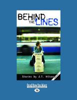 Behind the Lines (Large Print 16pt)