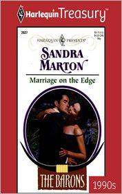 Marriage on the Edge - Sandra Marton