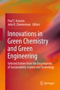 Innovations in Green Chemistry and Green Engineering - Julie B. Zimmerman, Paul T. Anastas