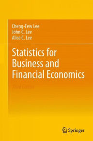 Statistics for Business and Financial Economics - Cheng-Few Lee