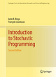 Introduction to Stochastic Programming - John R. Birge;  Francois Louveaux