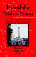 Remarkable Hotels of Europe