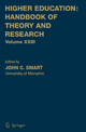 Higher Education: Handbook of Theory and Research - John C. Smart