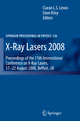 X-Ray Lasers - Ciaran Lewis; Dave Riley