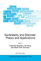 Nonlinearity and Disorder: Theory and Applications - F. Abdullaev; OLE Bang; M.P. Sorensen