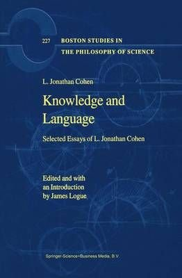 Knowledge and Language - L.Jonathan Cohen