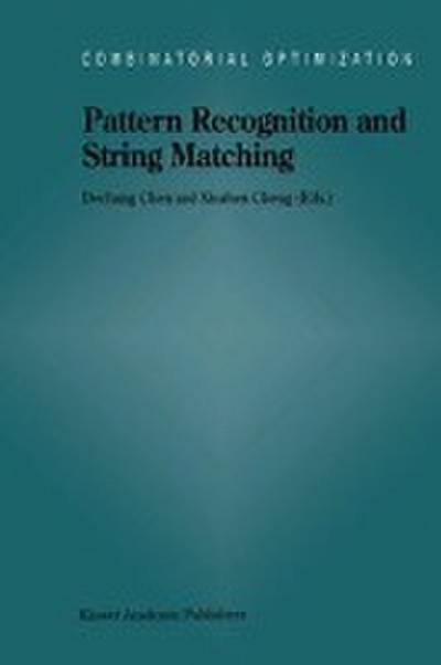 Pattern Recognition and String Matching - Chen Dechang