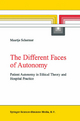 The Different Faces of Autonomy - Maartje Schermer