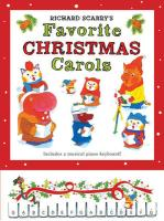 Richard Scarry's Favorite Christmas Carols [With Keyboard]