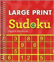 Large Print Sudoku #2 - Patrick Blindauer