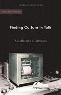 Finding Culture in Talk: A Collection of Methods