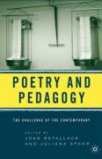Poetry & Pedagogy: The Challenge of the Contemporary