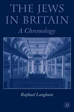 The Jews in Britain: A Chronology - Langham, R.