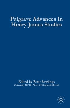 Palgrave Advances in Henry James Studies - Rawlings, Peter (ed.)