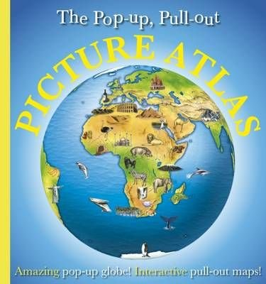 Pop-Up, Pull-Out, Picture Atlas - DK