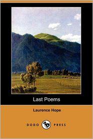 Last Poems - Laurence Hope