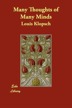 Many Thoughts of Many Minds - Klopsch, Louis