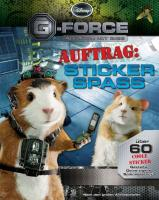 Disney G-Force Stickerbuch