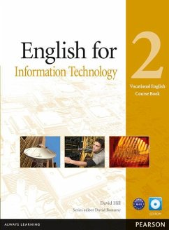 Vocational English Level 2 English for IT Coursebook (with CD-ROM incl. Class Audio) - Hill, David