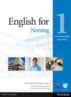 English for Nursing Level 1 Coursebook and CD-ROM Pack - Whright, Ross