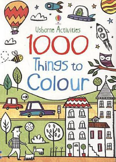 1000 Things to Colour - Kirsteen Robson