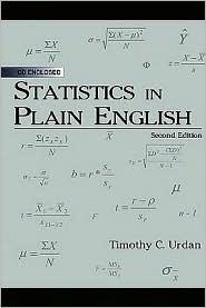 Statistics in Plain English - Timothy C. Urdan