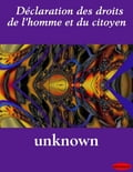 Déclaration Des Droits De L'homme Et Du Citoyen - Unknown