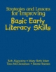 Strategies and Lessons for Improving Basic Early Literacy Skills - Bob Algozzine; Mary Beth Marr; Tina A. McClanahan; Emma McGee Barnes
