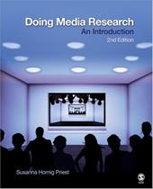Doing Media Research: An Introduction - Priest, Susanna Hornig