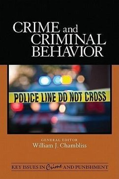 Crime and Criminal Behavior - Herausgeber: Chambliss, William J.